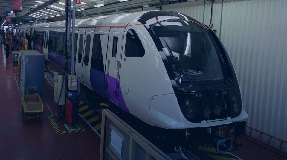 A train for the Elizabeth line